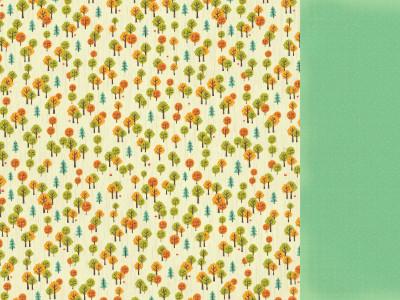 KaiserCraft skräppipaperi Tiny Woods Chedar 12x12