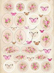 Lemoncraft korttikuvat Vintage Time 029 a4