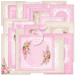 Lemoncraft Sweet Secrets Ephemera card 22kpl