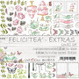 Craft O´Clock Felicitea extras 15,5x30,5cm 3kpl