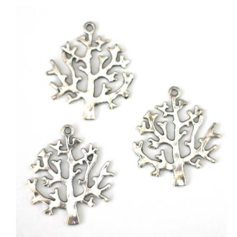 Metalliriipus puu antiikkihopea
