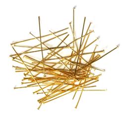 Korupiikit naulapäällä kulta 50mm 50kpl