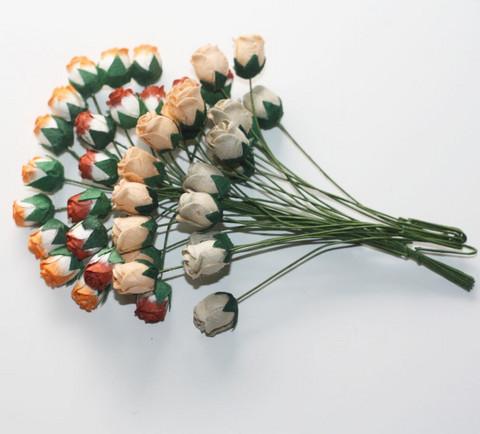 Isot ruusunnuput 40kpl ruskeamix