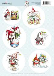 Polkadoodles korttikuvat Gnome for Christmas 002