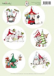 Polkadoodles korttikuvat Gnome for Christmas 003