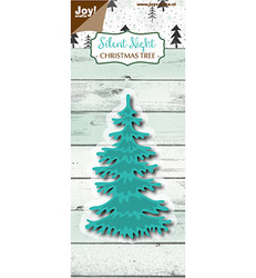 Joy Craft stanssi Silent Night Christmas tree