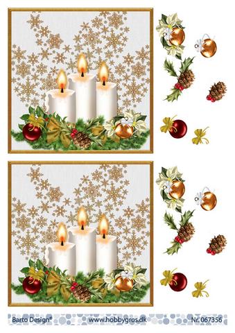 BD 3d-kuva upeat kynttilät vaalealla taustalla