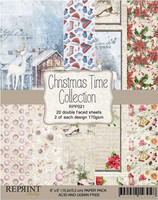 Reprint Christmas Time collection paperikko 6x6
