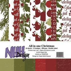 NHH Design All in one christmas paperikko 6x6