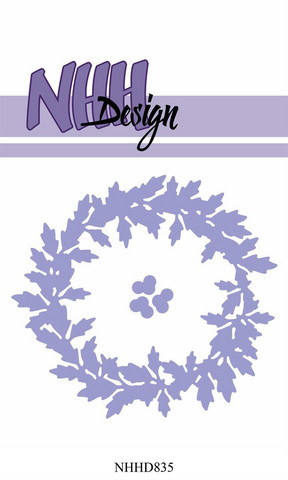 NHH Design stanssi Holly Wreath NHHD835