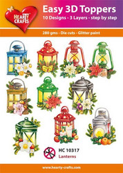 Hearty Crafts stanssatut 3d-kuvat Lanterns