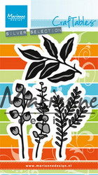 Marianne Design Christmas herbs & leaves cr1432