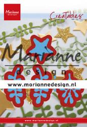 Marianne Design stanssit Christmas green lr0634