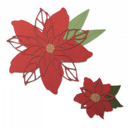 Sizzix Thinlits stanssit Poinsettia 663464