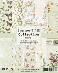 Reprint Summer Time Collection paperikko 6x6