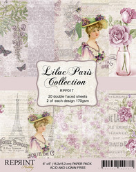 Reprint Lilac Paris Collection paperikko 6x6