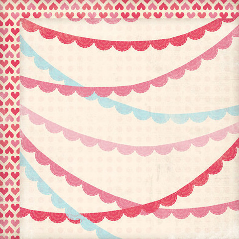 My Mind´s eye paperi Love Me Doily Banners 12x12