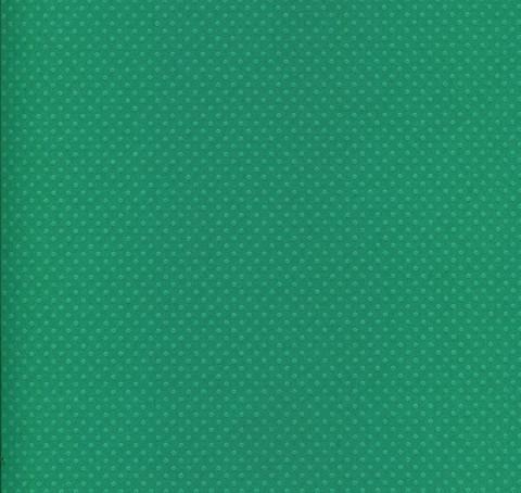 Bazzill Dotted Swiss pilkkukartonki sinivihreä 30,5x30,5cm