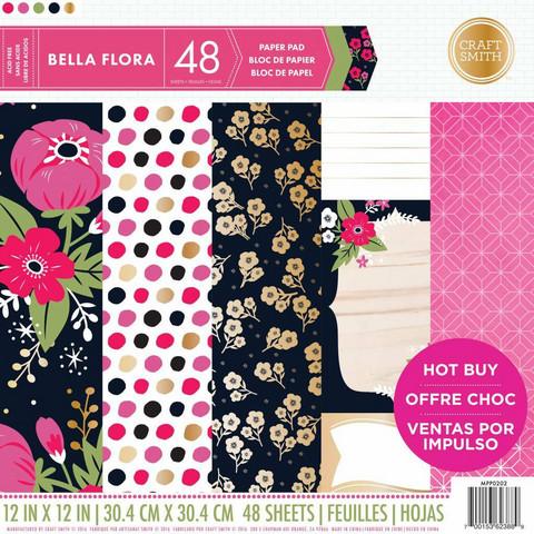 Craft Smith paperikko Bella Flora 12x12