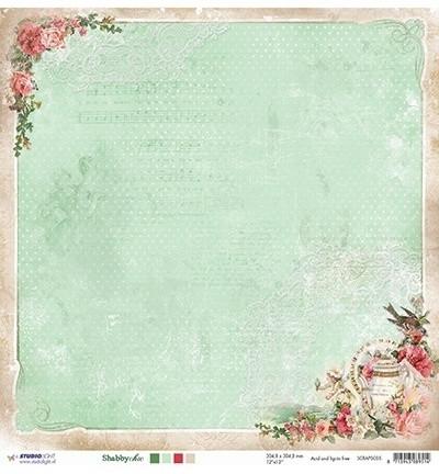 Studiolight paperi Shabby Chic 05 12x12