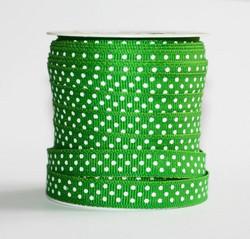 Pilkkunauha vihreä grossgrain 25m 10mm