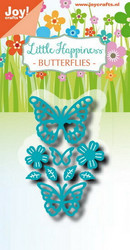 Joy Craft stanssit Little Happiness Butterflies