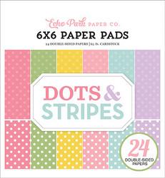 Echo Park paperikko Spring Dots & Stripes 6x6