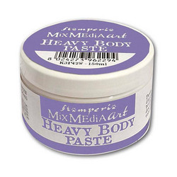 Stamperia Heavy Body Paste White valkoinen 150ml