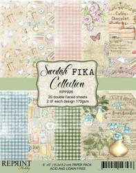 Reprint Swedish Fika paperikko 6x6