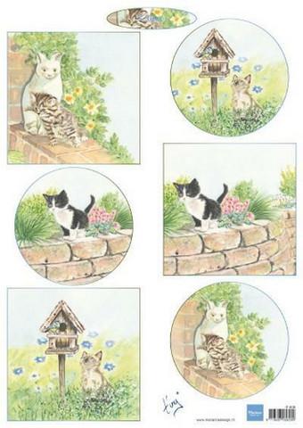 Marianne Design korttikuvat kissanpennut Kittens