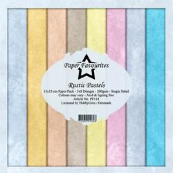 HG paperikko Rustic Pastels  6x6