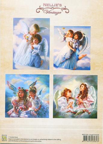 Korttikuvat Angel Friends Nellie Choice a4