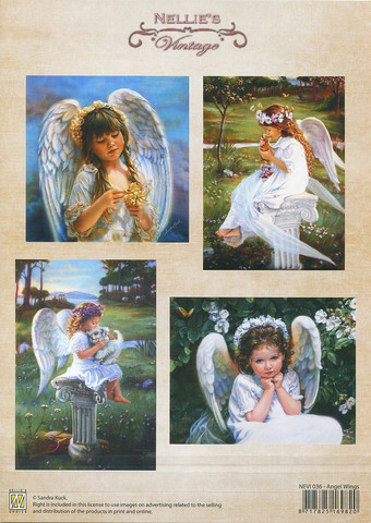 Korttikuvat Angel Wings Nellie Choice a4