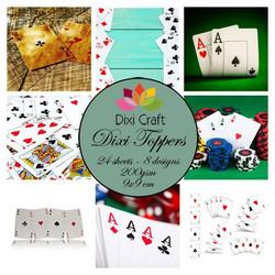 Dixi Craft korttikuvat pelikortit