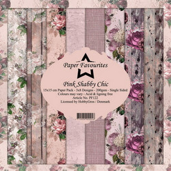 HG paperikko Pink Shabby Chic 6x6