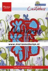 Marianne Design stanssit orvokit Petra's violets lr0649