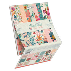 Papermania paperikko Bluebirds & Roses 6x6