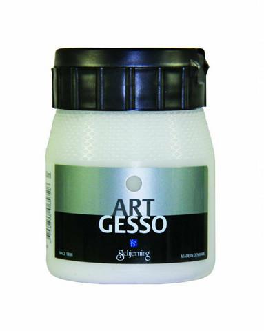 Valkoinen gesso Schjerning Art 250ml