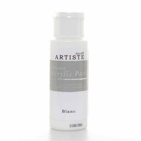 Artiste Akryylimaali 59ml Blanc valkoinen