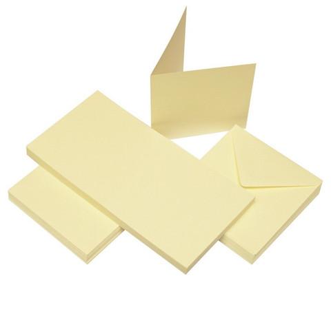 Craft UK Neliökorttipohjat ja kirjekuoret 4x4 50kpl KERMA