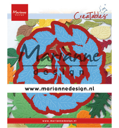 Marianne Design lehtikranssi Lr0624