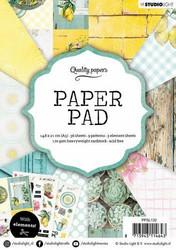 Studiolight paperilehtiö Garden a5 ppsl132