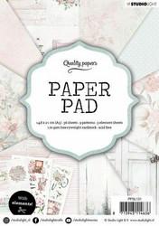 Studiolight paperilehtiö Classic Pastels a5 ppsl131