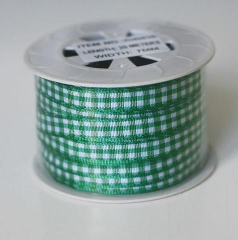 Ruutunauharulla vihreä 7mm 20 metriä
