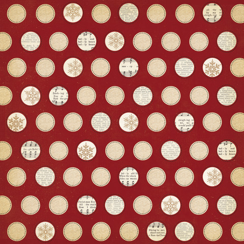 Simple Stories paperi Handmade Holiday Tis the Season 12x12