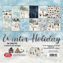 Craft&You paperikko Winter Holiday 6x6
