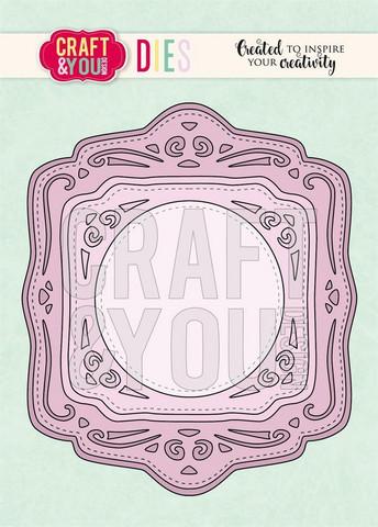 CRAFT & YOU kehysstanssit Wedding Frame CW083