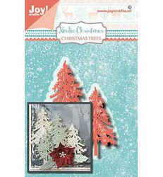 Joy Crafts stanssit kuuset Nordic Christmas Trees