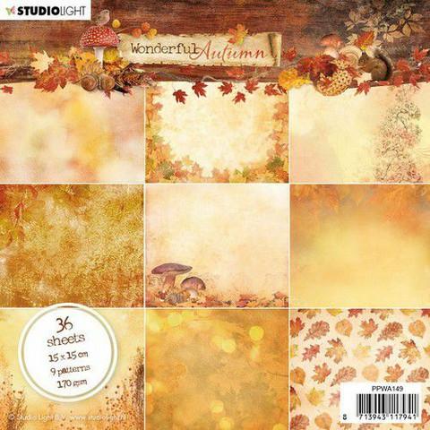 Studiolight paperilehtiö Wonderful Autumn PPWA149