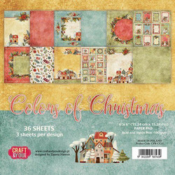 Craft & You Colors of Christmas paperikko 6x6